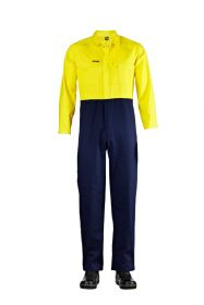 HI Vis Two Tone Poly/Cotton Coveralls- Longs