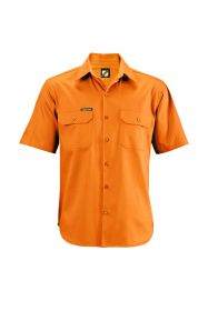 Lightweight Short Sleeve Cotton Drill Shirt