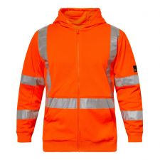 Alpine Hi Vis Hoodie With Tape