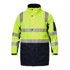 Tornado Hi Vis 4 In 1 Jacket With Tape