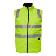 Frost Hi Vis Reversible Fleece Vest With Tape