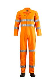 HI Vis Coveralls with 3M #9920 Tape