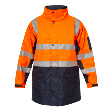 Hurricane Hi Vis Jacket With Tape
